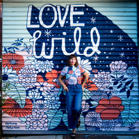 2017_08_01 Bethany's mural Love Wild Selects